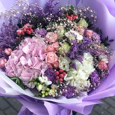 Букет цветов  «Монклер» фото