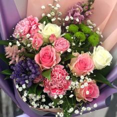Букет квітів «У полоні любові» фото