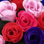 Heart of soap roses | size M photo