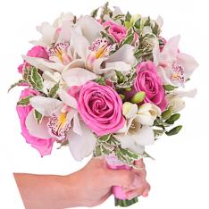 Свадебный букет невесты #10 фото