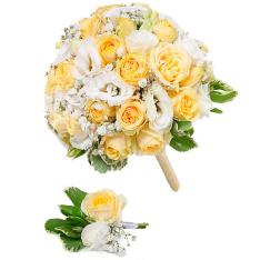 Свадебный букет невесты #29 фото
