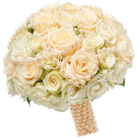 Свадебный букет невесты #37 фото