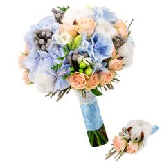 Свадебный букет невесты #61 фото