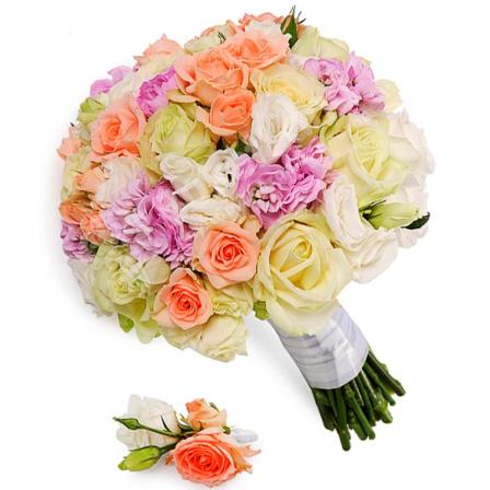 Свадебный букет невесты #9 фото