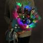 Зимний букет с гирляндой «Новогоднее настроение» фото