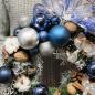 Зимний веночек «Домашний очаг»  фото