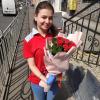 21 красная роза 50 см фото