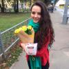 11 жёлтых роз Пенни Лейн 60 см фото