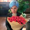 39 рожевих троянд спрей 60 см фото