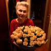 51 бежевая роза Талея 60 см фото