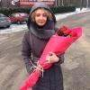 17 красных голландских роз фото