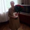 71 красная роза Гран При 60 см фото