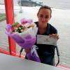 Букет цветов «Виктория» фото