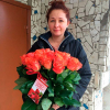 29 оранжевых роз Вау 60 см фото