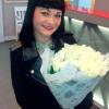 19 белых роз Аваланч 60 см фото
