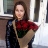 21 красная роза 80 см фото