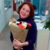 21 роза микс «красно-бело-оранжевая» 60 см фото