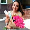 29 розовых роз Аква 60 см фото