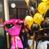 101 эквадорская роза 80 см в ассортименте фото