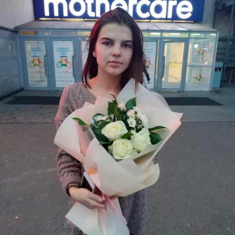9c87301ad76fb Букет цветов «Торжество» - купить с доставкой в Киев