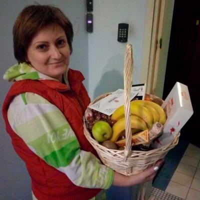 """Gift basket """"Comfort"""" photo"""