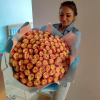 101 эквадорская роза 60 см в ассортименте фото