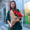 25 красных голландских роз Freedom фото