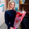 15 красных роз 60 см фото