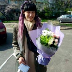 Букет цветов «Торжество» фото