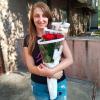 11 красных роз 60 см фото