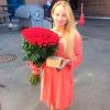 59 красных роз Гран При 60 см фото