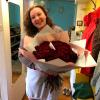 101 красная роза 50 см фото