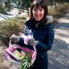 Подарочная корзина «Цветочек» фото