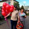 21 гелиевый шарик «красный» фото