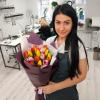 25 тюльпанов микс (3 цвета) фото