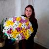35 хризантем микс фото