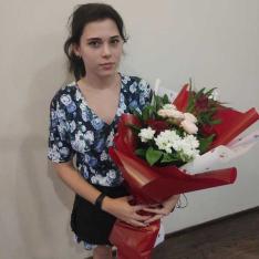 Букет цветов «Сказочный» фото
