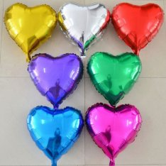 Assorted foil helium ball photo