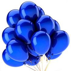 21 гелиевый шарик «синий» фото