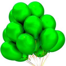 21 гелиевый шарик «зеленый» фото