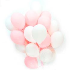35 гелиевых шариков микс фото