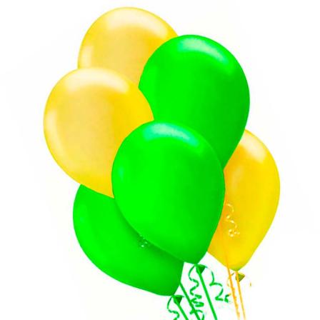 7 helium balloons mix 2 photo