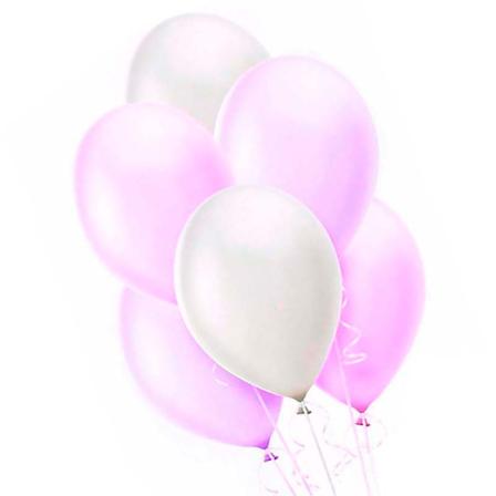 7 helium balloons mix 4 photo