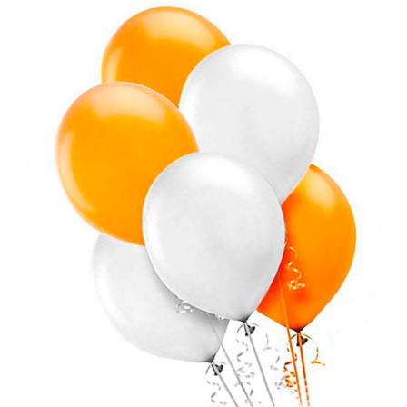 7 helium balloons mix 5 photo