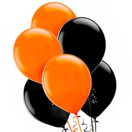 7 helium balloons mix 6 photo