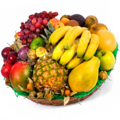 Фруктовая корзина «7 кг витамина С» фото