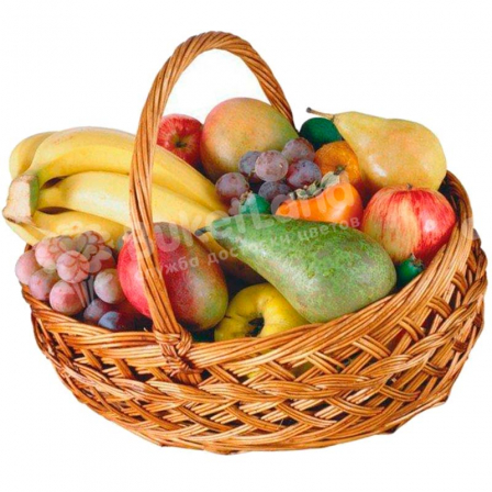 "Fruit basket ""Good morning"" photo"