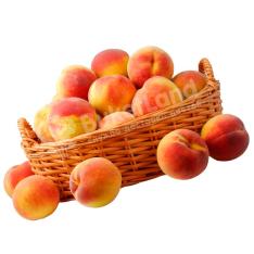 Фруктовая корзина «Любимый персик»  фото