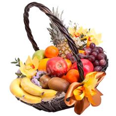 Фруктовая корзина «Приятного аппетита»   фото