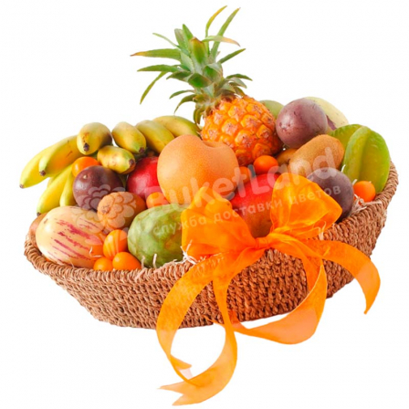 "Fruit basket ""Tropical mix"" photo"